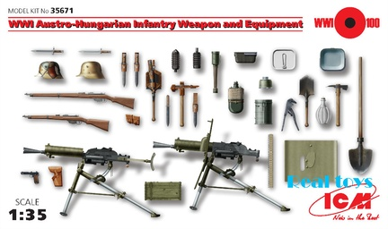 New-Arrivial-ICM-model-35671-1-35-WWI-Austro-Hungarian-Infantry-font-b-Weapon-b-font
